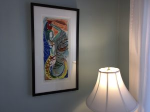 Blue Room - The artwork of Marjorie Priceman.